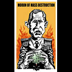 Emek Moron Of Mass Destruction George W. Bush Poster