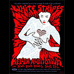 Emek White Stripes Poster