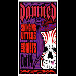 Mike Martin The Damned Poster