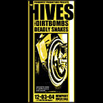Mike Martin The Hives Poster