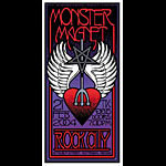 Mike Martin Monster Magnet Poster