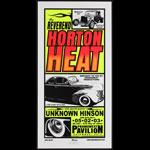 Mike Martin Reverend Horton Heat Poster