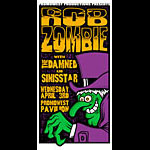 Mike Martin Rob Zombie Poster