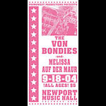 Mike Martin The Von Bondies Poster