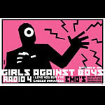 Brian Ewing Girls Against Boys Poster