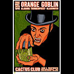 Brian Ewing Orange Goblin Poster