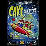 Cake New Fillmore BGMF09 Poster