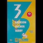 3 (Emerson Palmer + Berry) New Fillmore F11 Poster