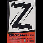 Ziggy Marley & The Melody Makers New Fillmore F14 Poster