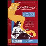 Carlos Santana's Blues for Salvador Tour 1988 Fillmore F16 Poster