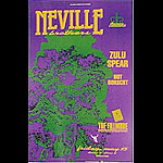 Neville Bros New Fillmore F17 Poster
