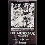 Mission UK New Fillmore F28 Poster