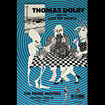 Thomas Dolby & The Lost Toy People New Fillmore Poster F29