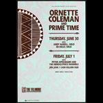 Ornette Coleman & Prime Time New Fillmore Poster F30