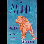 Aswad New Fillmore Poster F31