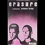erasure New Fillmore F39 Poster