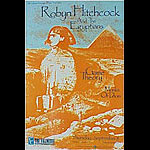 Robyn Hitchcock & The Egyptians New Fillmore F45 Poster