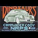 Dinosaurs New Fillmore Poster F46