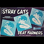 Stray Cats New Fillmore F48 Poster