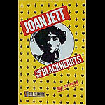 Joan Jett & The Blackhearts New Fillmore F49 Poster