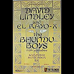 David Lindley & El Rayo-X New Fillmore F51 Poster