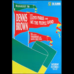Dennis Brown New Fillmore F53 Poster