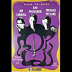 Jim Carrol New Fillmore Poster F64