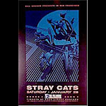 The Stray Cats New Fillmore Poster F73
