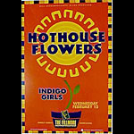 Hothouse Flowers New Fillmore F75 Poster