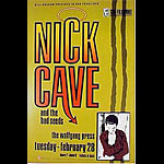 Nick Cave New Fillmore F78 Poster