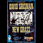 David Grisman Quartet New Fillmore F82 Poster