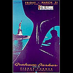 Graham Parker 1989 Fillmore F85 Poster
