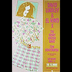 David Lindley & El Rayo X New Fillmore Poster F88