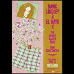 David Lindley & El Rayo X New Fillmore F88 Poster