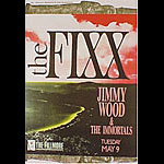 The Fixx New Fillmore Poster F96