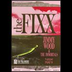 The Fixx New Fillmore F96 Poster