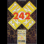 Front 242 New Fillmore F99 Poster