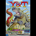 Y&T New Fillmore F1002 Poster