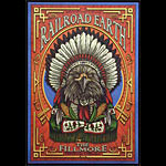 Railroad Earth New Fillmore F1011 Poster