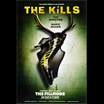 The Kills New Fillmore F1014 Poster