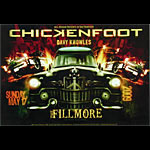 Chickenfoot New Fillmore Poster F1016