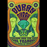 Duran Duran New Fillmore Poster F1019