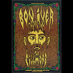 Bon Iver New Fillmore F1024 Poster
