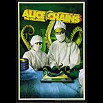 Alice In Chains New Fillmore Poster F1025