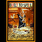 Built To Spill New Fillmore F1029 Poster