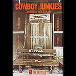 Cowboy Junkies New Fillmore Poster F103