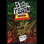 Sonic Youth New Fillmore F1036 Poster