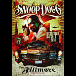 Snoop Dogg New Fillmore F1043 Poster