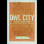 Owl City New Fillmore F1047 Poster