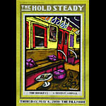 The Hold Steady New Fillmore F1056 Poster